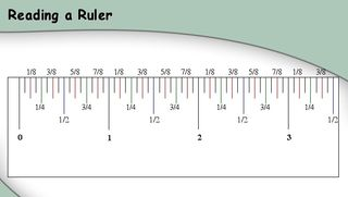 Reading a ruler graphic