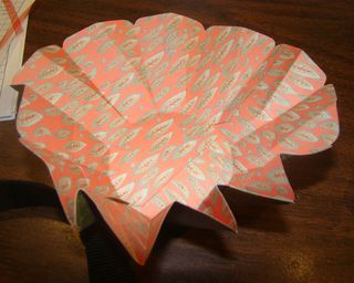 Blossom Box-open, folded