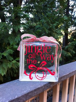 Jingle all the Way Décor Element 114707, p 229, Stampin' Up! Catalog
