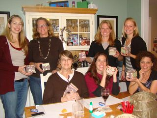 The Holiday Gang and their gift boxes!