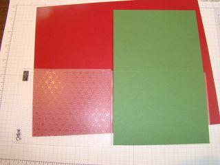Textured Impression folder open