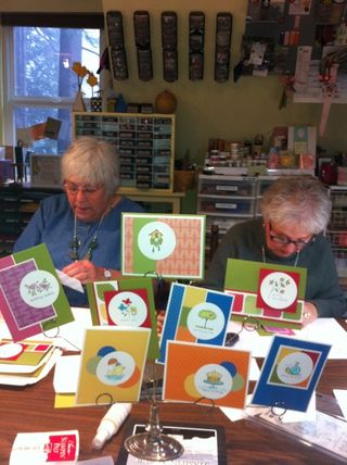 Susan and Sharon + Easy Events cards