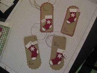 Stocking tags