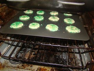 2-Cookies in the oven