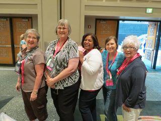 Janet, Donna, Maria, Eileen, BK