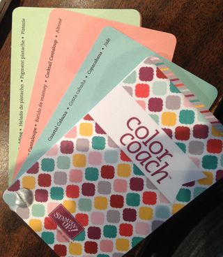 2013 Color Coach fanned in colors, 130118