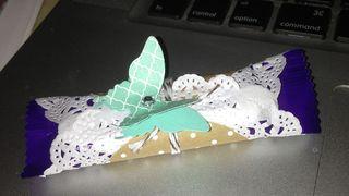 Cadbury + butterfly