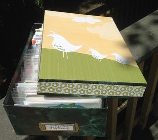 Photo box, decorated