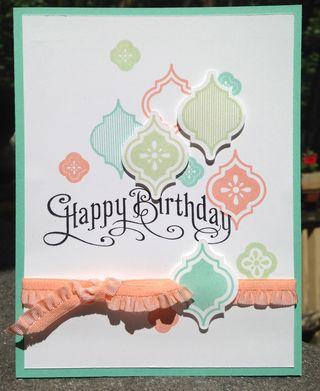 Birthday Card, Mosaic Madness