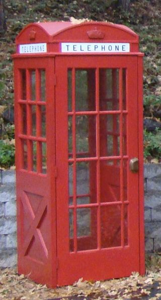 Phone box - close up
