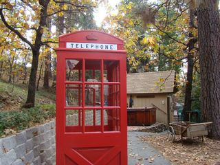 Phone box - autumn