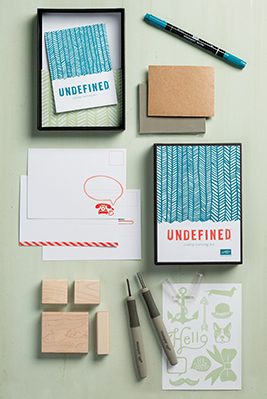 Undefined stamp carving kit, 133402, $19.95