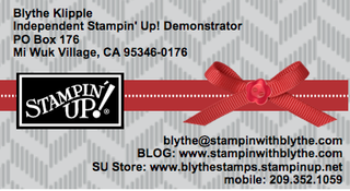 Business card made with My Digital Studio