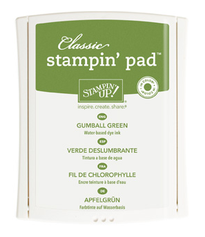 Gumball Green Classic Stamp Pad, 126861