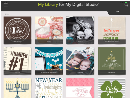 My Digital Studio Library App