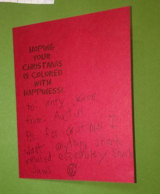Austin's card 2