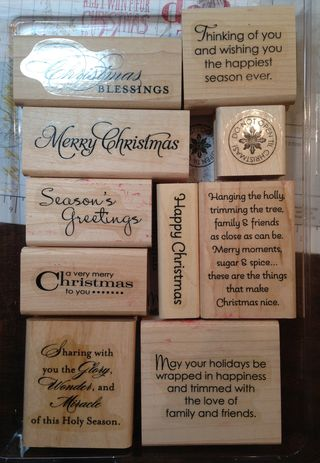 More Merry Messages stamp set (126400)