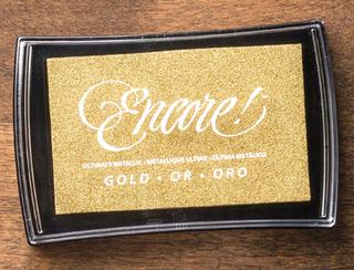 Gold Metallic Encore Pad, 132141, $7.46