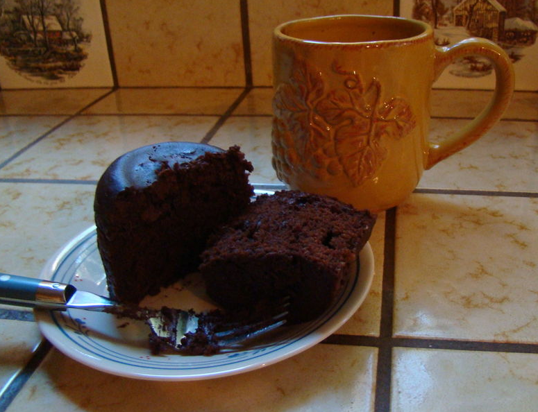 Cup of Chocolate Cake