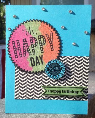 Single Happy Day B.D. Card