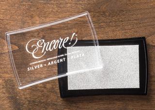 Silver Metallic Encore Pad, 132142, $7.46