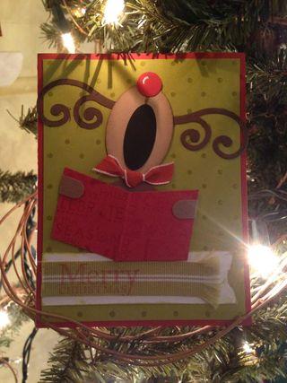 2008 reindeer card