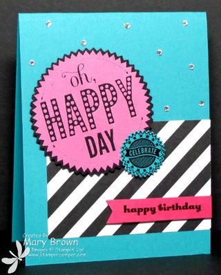 Oh Happy Day Birthday
