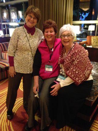 Sue Ann, Kathy, BK