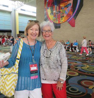 Susan Elise and Blythe