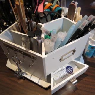 Paint brushes, gel pens, blender pens and aqua painters