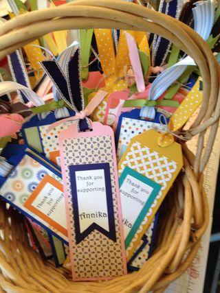 Basketful of Bookmark TYs