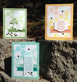 Ombre-all 3 cards