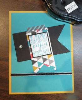 Dava-Perfect Pennants card