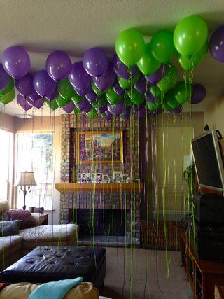70 balloons!