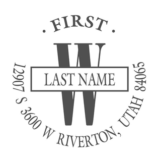 PS-Personalized Stamp, 132852, $23.95