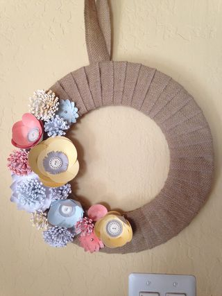 133333, Burlap & Blossoms Kit